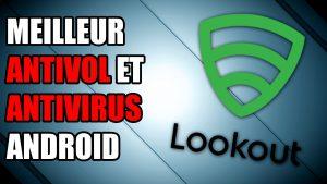 lookout antivirus antivol photo email