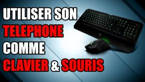clavier souris téléphone sans fil android
