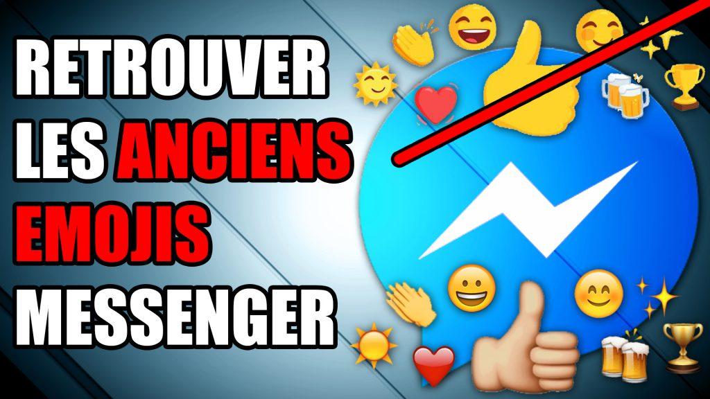 emojis messenger facebook smiley anciens
