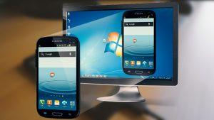 écran android sur pc afficher contrôler souris enregistrement