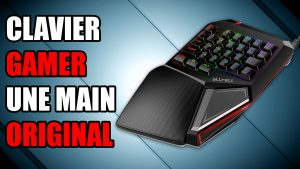 clavier gamer personnalisable une main leds allreli