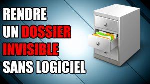 cacher fichier fichiers dossier pc