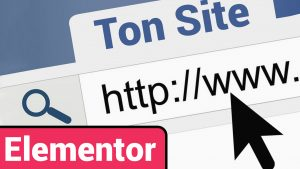 site internet créer elementor pro site web